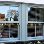 Coloured uPVC sash windows