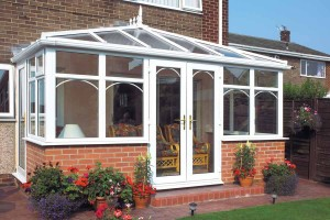 Energy efficient Edwardian style conservatory
