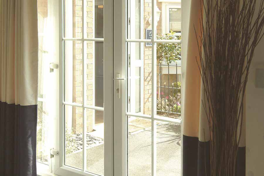 French door installers in london keepout windows for Upvc internal french doors