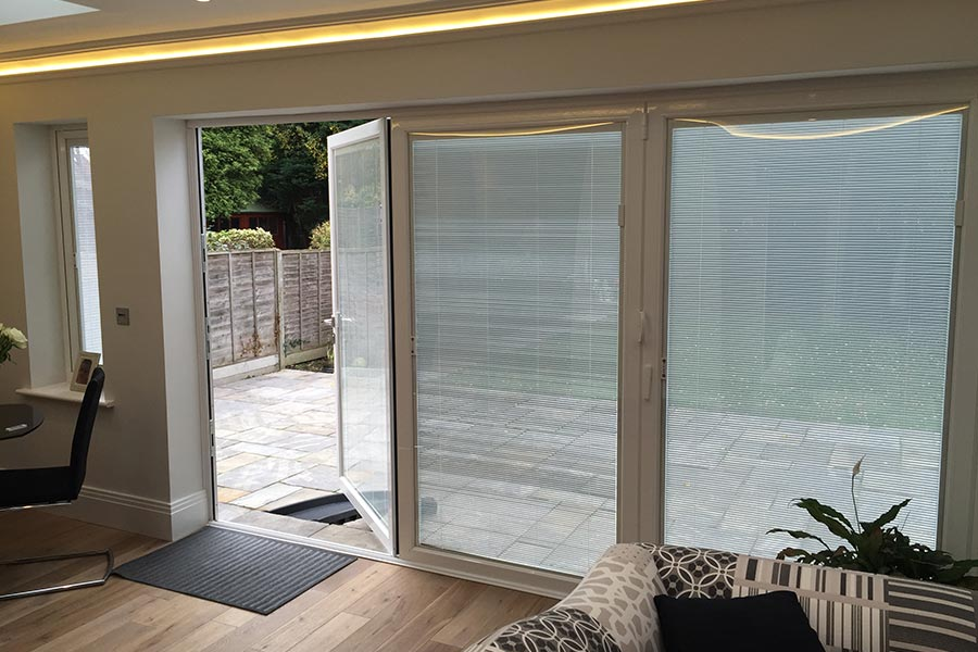Glazing With Integral Blinds In London Keepout Windows