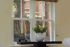 Rehau double sash windows