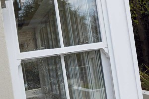 Double glazed upvc sliding sash windows