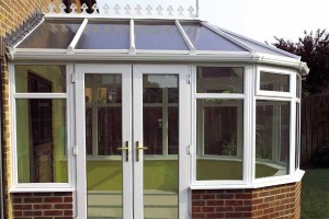 uPVC conservatory in Victorian style