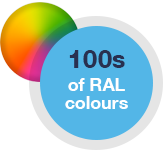RAL colour options - 100s of colours for timber windows
