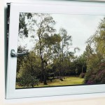 Tilt and Turn upvc window tilted inwards
